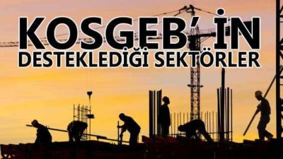 KOSGEB Desteklenen Sektörler (2020 Haziran Güncel)