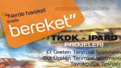 TKDK Hayvancılık Destekleri ve Hibeler (Güncel)