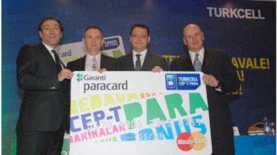 Turkcell'den Müşterilerine Cepte Para Kart Uygulaması