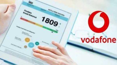Vodafone Kredi Notu Sorgulama 2020 Yöntemi