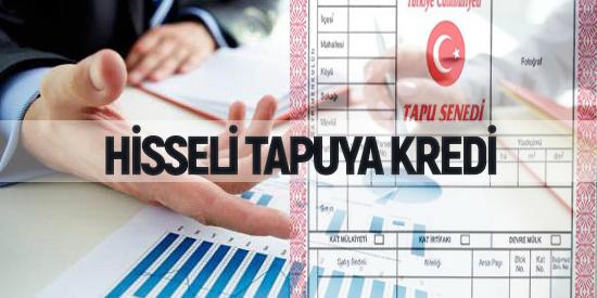 Hisseli Tapuya Kredi Veren Bankalar (FAİZSİZ)
