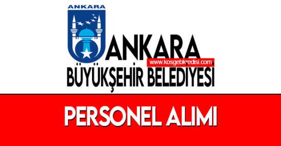 Ankara Büyükşehir Belediyesi İş Başvuru Sayfası