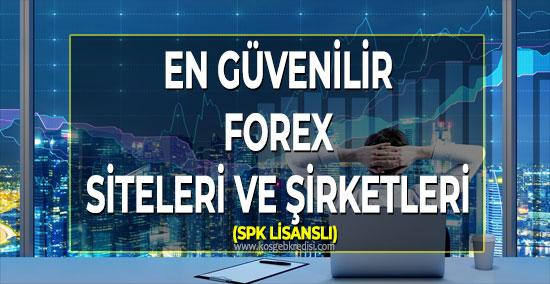 En İyi Forex Şirketleri (SPK LİSANSLI)